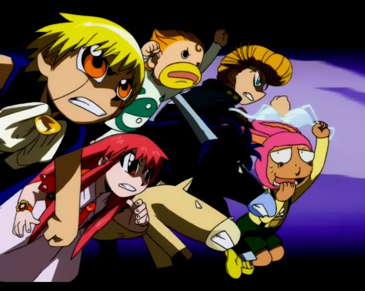 Zatch Bell and Company by MBarDeaD on deviantART