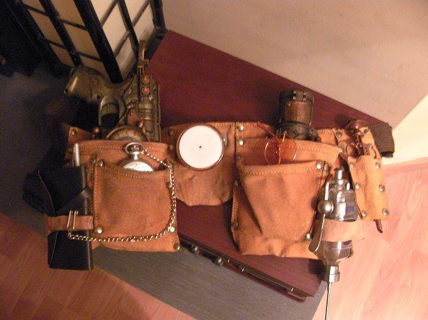 cinturon herramientas - Kit-cinturon de Accesorios con campo de fuerza incorporado para el aventurero y aventurera de pro.