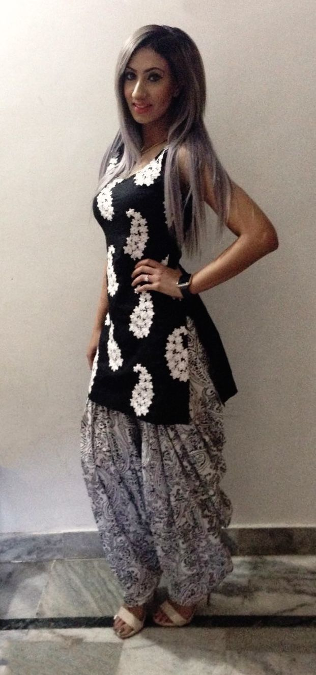 email sajsacouture@gmail.com for this black and gray piece