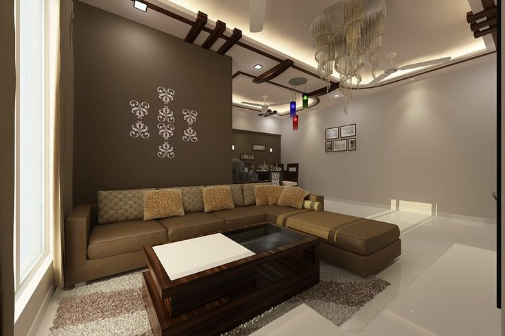 the living room space having corner sofa with leather finish surfacesa wooden center table