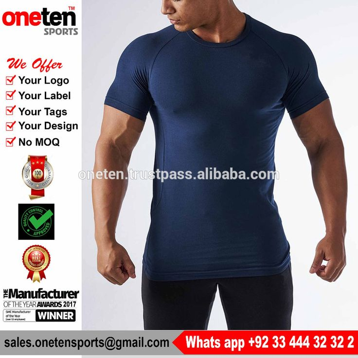 Hot Sale Economic Dry Fit And Breathable T Shirt - Men Gym Wear