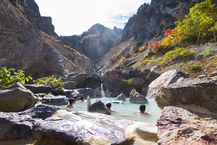 secluded hot spring / geyser| South of Yamagata, sometime come to Okitama Travelog.