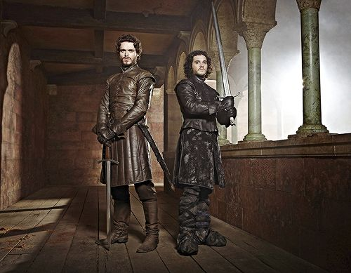 Robb & Jon - house-stark Photo