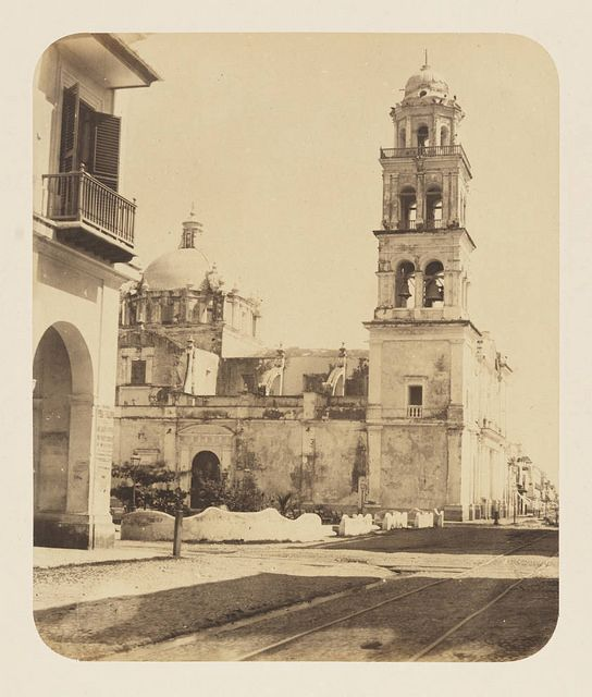 [Cathedral of Veracruz, Our Lady of the Assumption] | by SMU Central University Libraries