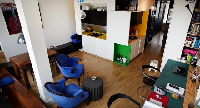 Architektura wnętrza – zobacz nowoczesne wnętrze mieszkania architekta w Warszawie. Super zdjęcia!