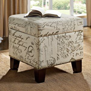 Storage Ottomans on Hayneedle - Storage Footstool