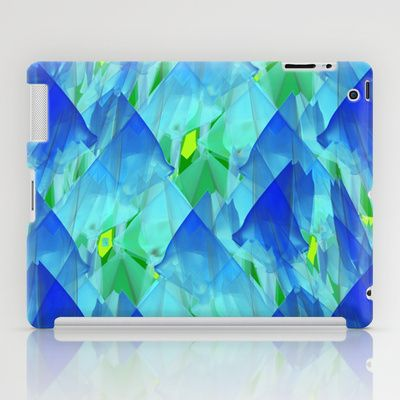 Tulip Fields #109 iPad Case by Gréta Thórsdóttir - $60.00