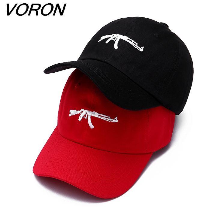 VORON 2017 nieuwe mode machinegeweren baseball caps snapback dad hoed drake curve vizier kans de rapper hoeden voor mannen