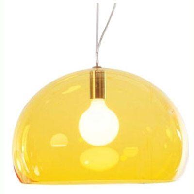 FL/Y taklampe fra Kartell, design Ferruccio Laviani.Fly er en pen lampe fra Kartell som gjør ...