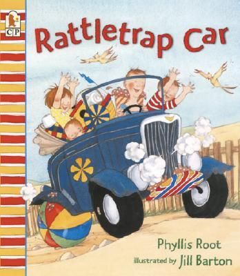 Junie, Jake, Poppa, and the baby want to go to the lake, but can they make it in their rattletrap car