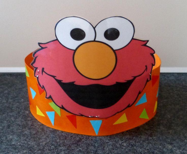 Verjaardagsmuts Elmo