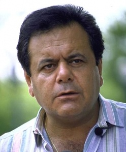 My Italian buddy, Paul Sorvino.