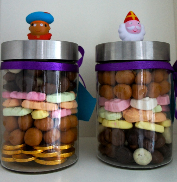 "Ideas from the forest: sinterklaas, ""gift in a jar"""