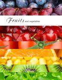 Friss gyümölcs és zöldség Poszter