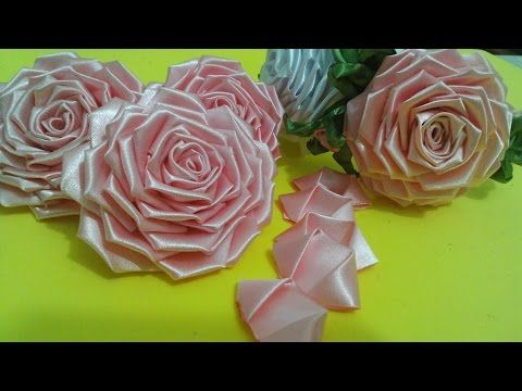 Flor de tecido - Parte 1 - Aprenda a fazer a PÉTALA dessa Rosa lindaaa...Fácil e passo a passo!!!^^ - YouTube