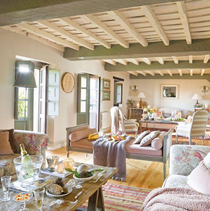 Casas rusticas decoracion interiores diseno estilo - Interiores casas rusticas ...
