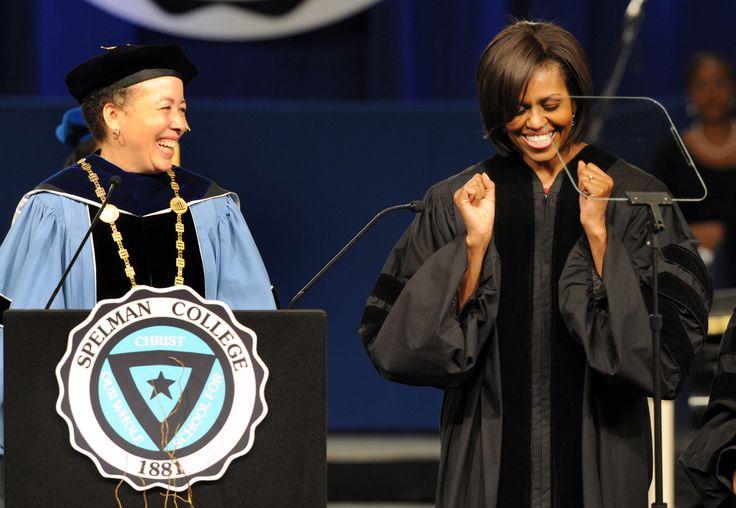 Michelle Obama Inspires Spelman College Class of 2011