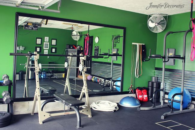Best home gym garage ideas on pinterest