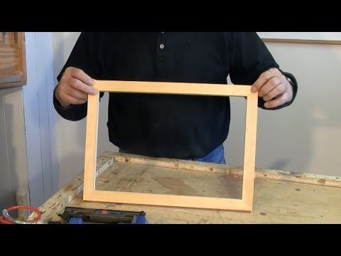(2) Making Picture Frames with a Sliding Mitre Saw - A woodworkweb.com woodworking video - YouTube