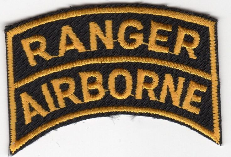 Ranger Airborne BC Patch Cat No M0743