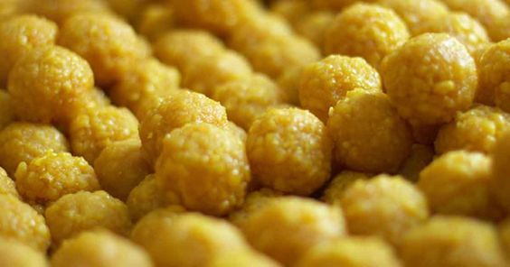 Boondi Ladoo Recipe with step by step - A delicious Ladoo recipe that is perfect for any occasion. #boondiladoorecipe