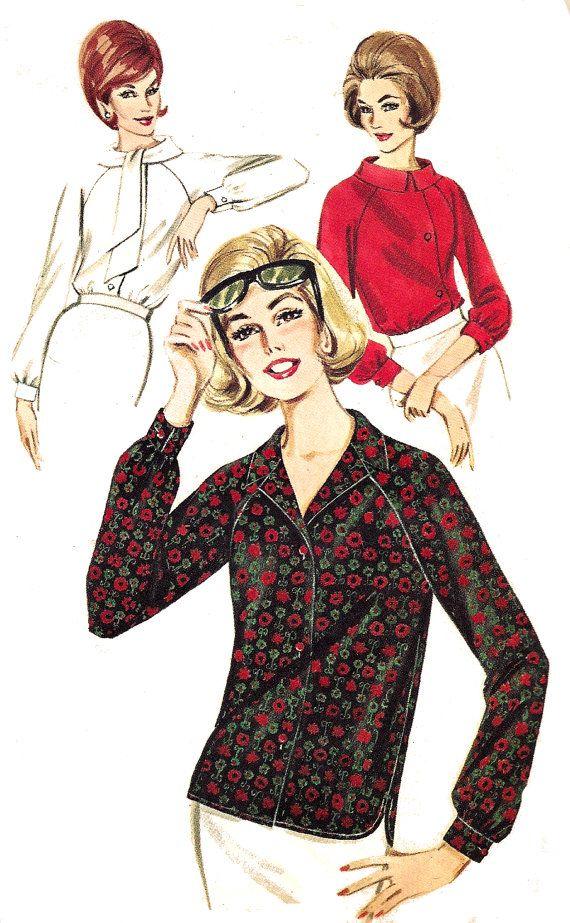 34 Best Vintage Kitchen Decor Ideas And Designs For 2019: 17 Best Images About Vintage Skirt & Blouse Patterns On