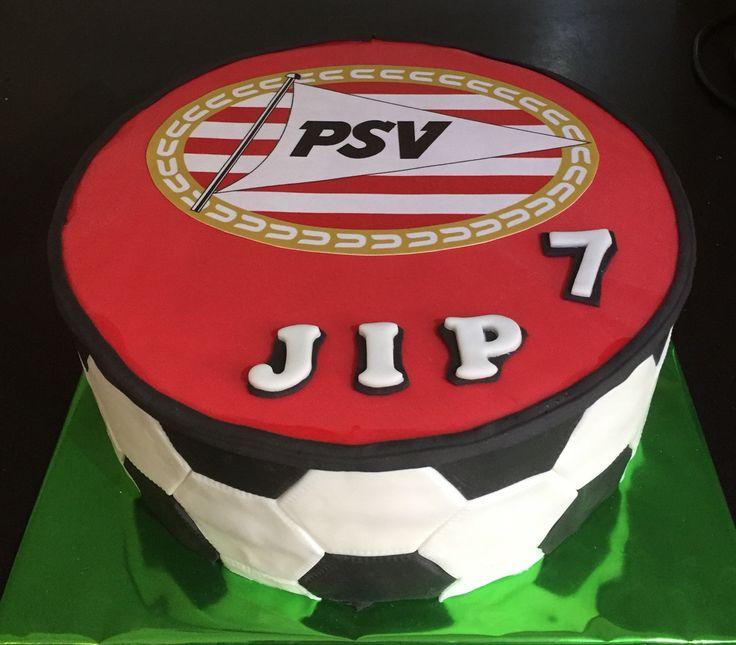 PSV taart, januari 2016