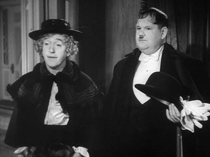 Laurel and hardy comico film personaggi