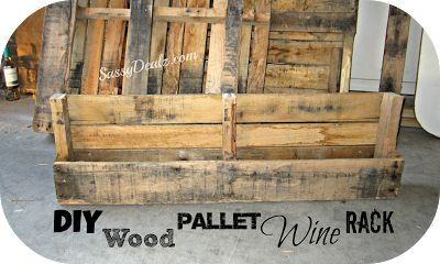 Diy How To Make A Wine Or Magazine Rack Out Of A Wood
