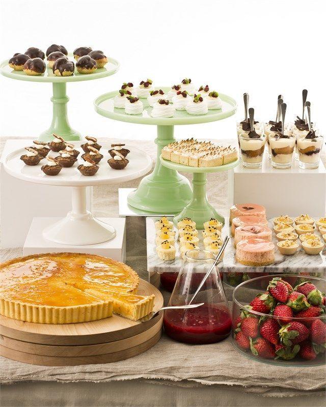 Come servire il dolce nei party a buffet . - MatildeTiramiSu!