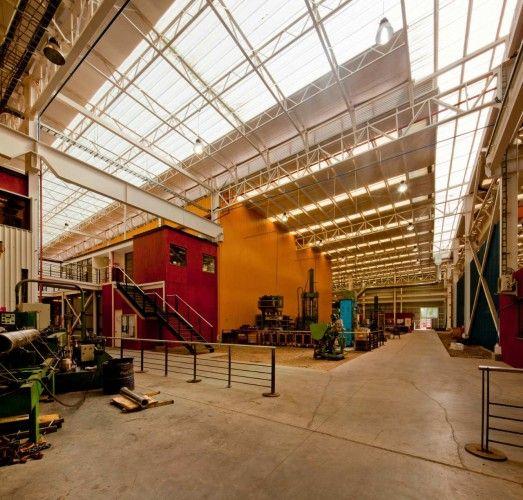 Revesol Industrial Plant / Vicente Justiniano Arquitectos & 18 best Industrial Skylights: Calgary Skylights images on ...