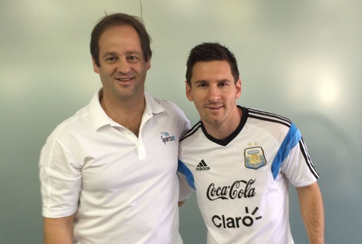 Santiago Cuenya From Sportstec Latin America with Worlds #1 Football player Argentina Football Star Lionel Messi