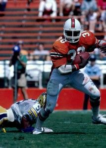 Alonzo Highsmith (1983-1986) Miami Hurricanes Football Fullback  >>>  click the image to learn more...