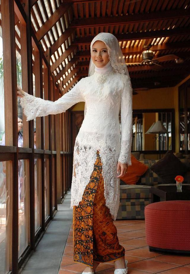 white kebaya for my wedding?