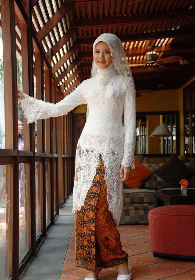 white kebaya for my wedding?