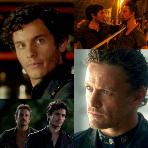 Mat Vairo and David Lyons in 'Revolution'. Could there be a hotter father-son combo?
