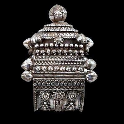 Orissan Silver Bracelet   ~  Orissa India, Circa Early 20th Century