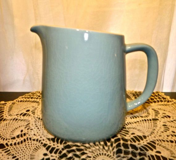 Mid Century Scandinavian Pitcher Arabia Kaj by EndlessTreasuresNJ