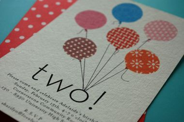 lovelydesign: homemade birthday invitations on imgfave