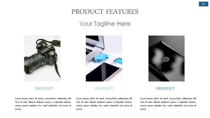 Beautiful InstaPoint PowerPoint Template Slide Gallery