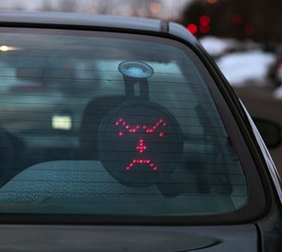 Drivemotion LED Car Sign – $50