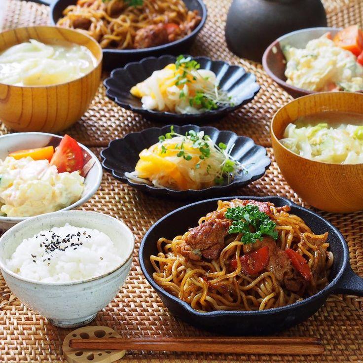"Gefällt 1,903 Mal, 40 Kommentare - Standard Poodle あずきとおもち (@azuki_omochi) auf Instagram: ""εïз ❁ 2016.11.27 . 今日の晩ご飯は . ❁ソース焼そば ( cookpad 2223583 ) ❁柿のなます ( 677487 ) ❁みんな大絶賛のポテトサラダ ( 837565…"""