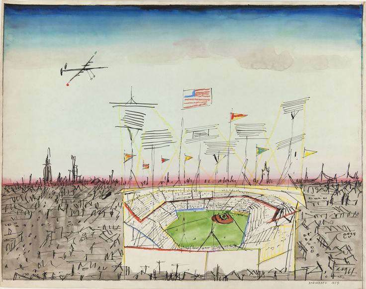 penccil : : : Saul Steinberg - The Americans