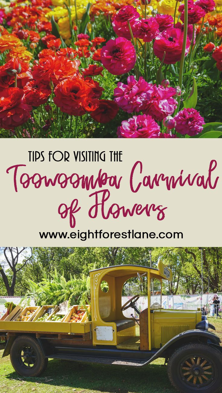 Visiting The Toowoomba Carnival of Flowers