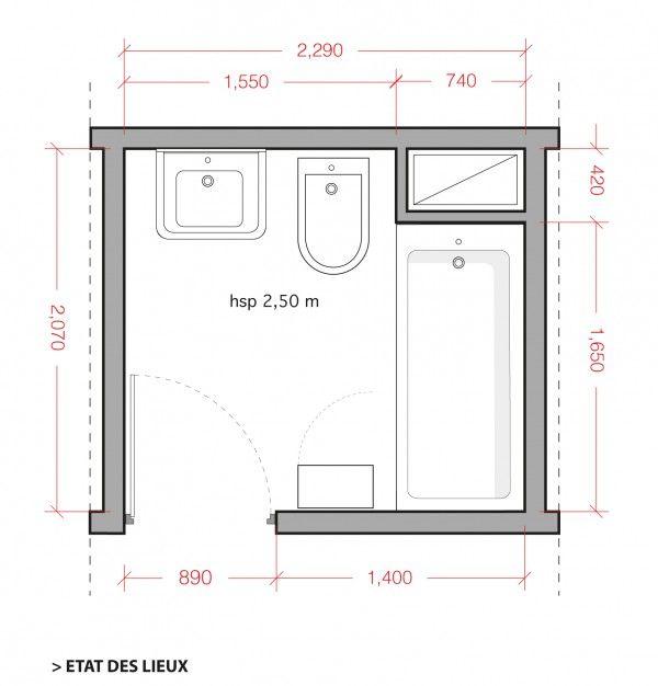 Plan coaching déco petite salle de bains - coaching déco aménagement petite salle de bains  http://www.homelisty.com/coaching-deco-amenagement-relooking-petite-salle-de-bains/