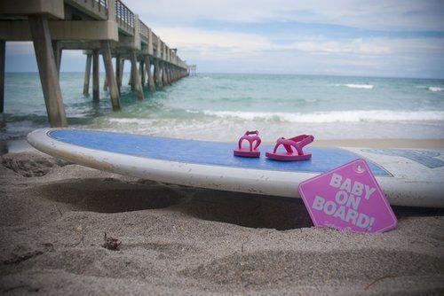 Beach baby announcement                                                                                                                                                                                 More