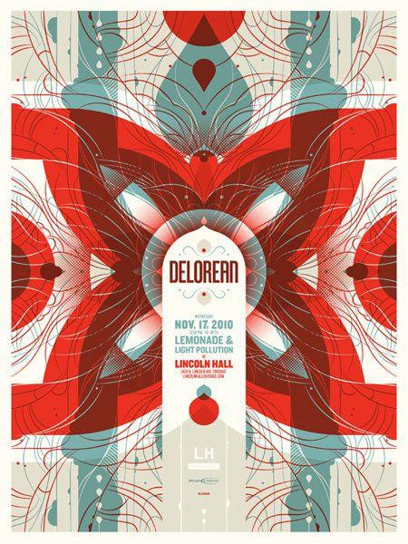 Delorean with Lemonade & Light Pollution- November 17th, 2010 at Lincoln Hall (Delicious Design League)