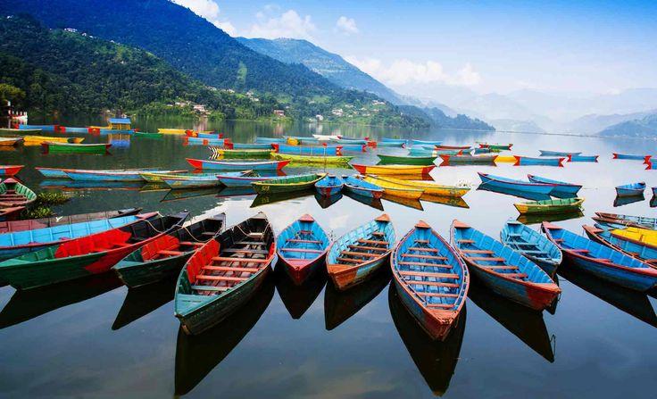 Phewa Lake, Pokhara Valley, #Nepal #travel #viaggi #viaggiare #mostbeautifulpages #stunningplaces #beautifulplaces