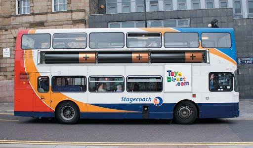 クリエイティブなバスのラッピング広告いろいろ - WEBマーケティング ブログ