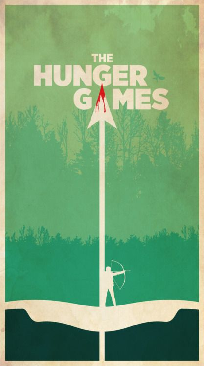 Good poster but so weird since the one who uses the arrow isn't a man, it's a girl.